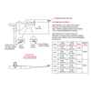 """Truth Commercial 23 Series Single 9-1/2"""" Arm Operator, Schematic"""