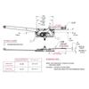Truth Window Hardware EntryGard Dual Arm Casement Window Crank Operator Diagram Specification