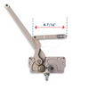 "Truth Hardware EntryGard Series Dual Arm Window Operator 4-7/16"" Link Arm (Left Hand), 15.10.00.201, Image 4"