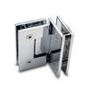 Titan 90° Glass to Glass Shower Door Hinge, Chrome - OGS Part # SDH-1337C, Image 2