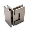 Titan 90° Glass to Glass Shower Door Hinge, Brushed Nickel - OGS Part # SDH-1337N, Image 5