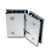 Titan 135° Adjustable Glass to Glass Shower Door Hinge, Chrome - OGS Part # SDH-1158C, Image 2
