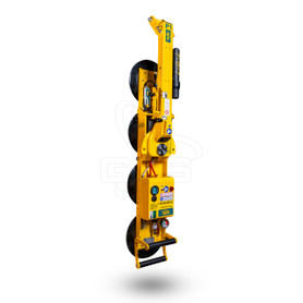 "P1104DC Wood's Powr-Grip 96831 P1 Original Edition, 11"" Diameter Lipped Pads, 700 lb Capacity, Vertical Position"