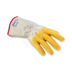 Rubber Coated Gloves (Long Cuff, Wrinkled Rubber)