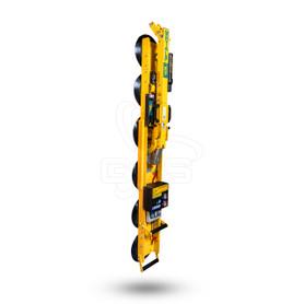 "MRTALPCH Wood's Powr-Grip 97731 MRTAL Original Edition, 11"" Diameter Lipped Pads, 700 lb Capacity, Vertical Position"