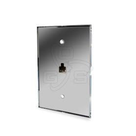 Acrylic Telephone Jack Mirror Plate