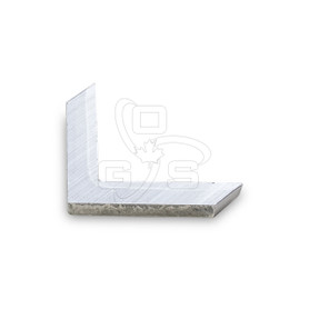 Screen Bar Corner, Solid Aluminum
