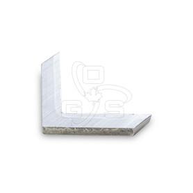 Screen Bar Corner, Solid Aluminum