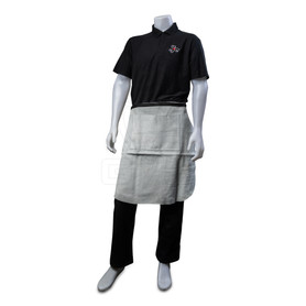 "Leather Apron w. Pocket, 24"" x 24"""