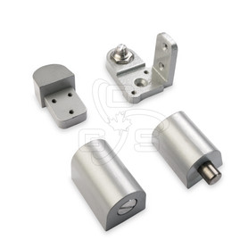 Image of Commercial Door Pivot Set (#500) Right Hand (Swing Out) Spring Loaded Top Pin - OGS Part # DH-500RH/AL