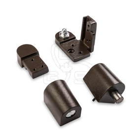 Image of Bronze Commercial Door Pivot Set (#700) Right Hand (Swing Out) - OGS Part # DH-700RH/BZ