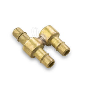 "Image of Wood's Powr-Grip (15624) Hose Fitting - Y - Connector 1/4"" Barb - OGS Part # WPG-15624"