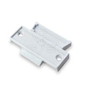 "Image of Sash Lock (2-5/8"" Length) Center Rail, White Finish - OGS Part # SL-5950W"