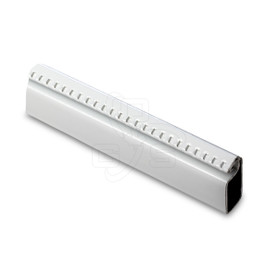 "Image of Screen Bar (Roll Formed) 5/16"" x 3/4"" x 12-1/2' - White Finish - OGS Part # SS-7900W"