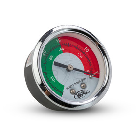Woods Powr-Grip (15910) Dual Scale Vacuum Gauge, 1/8 Male-NPT CBM X 2IN Dial - OGS Part # WPG-15910, Image 1