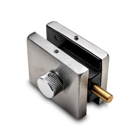 Patch Fitting Lock, Operation via Thumbturn, Stainless Steel - OGS Part # CDH-7140, Image 1