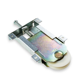 By-Pass Closet Door Bottom Roller - OGS Part # CDH-104B, Image 1
