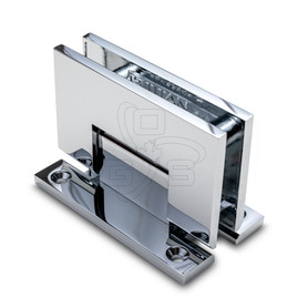 Titan 90° H Back Shower Door Hinge, Chrome - OGS Part # SDH-1135C, Image 1