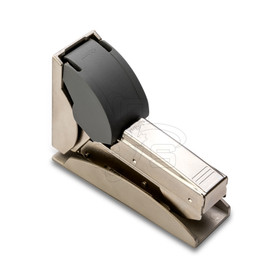 Bohle Cristalo Fixed Hinge With Soft Close For UV Bonding - OGS Part # UV-3000, Image 1