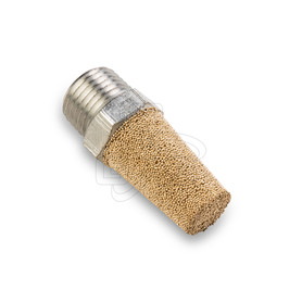 "Woods Powr-Grip Bronze Exhaust Muffler/Filter 1/8"" NPT - OGS Part # WPG-16100, Image 1"
