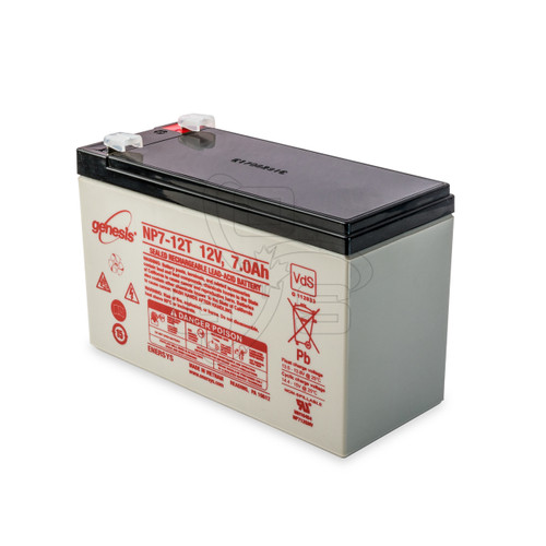 12V 7AMP-Hours Vacuum Lifter Replacement Battery