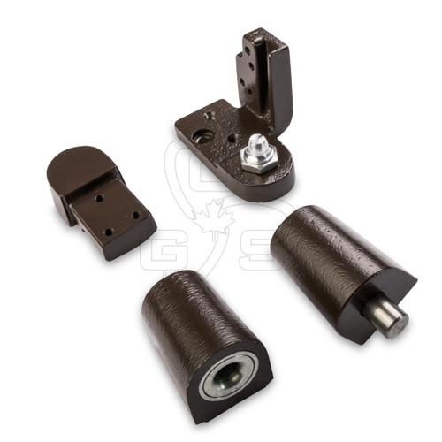 Image of Bronze Commercial Door Pivot Set (#700) Left Hand (Swing Out) - OGS Part # DH-500LH/BZ