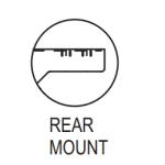 Truth 23 Series Rear Mount (23.00) Casement Window Operator Details Chart