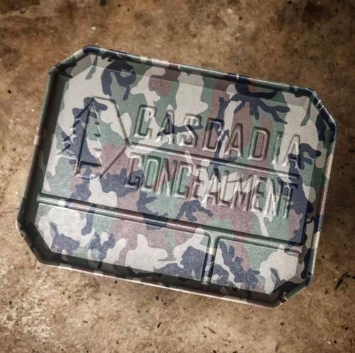 EDC Dump Tray - Woodland M81 Camo