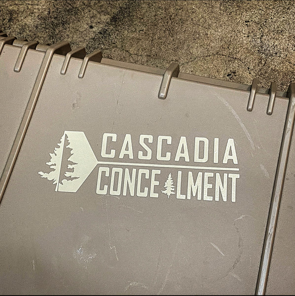 Cascadia Concealment Decal