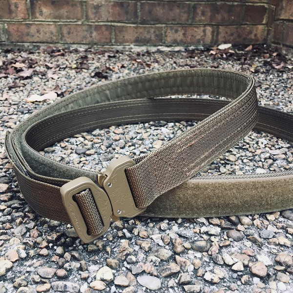 EDC Double Ring Cobra Belt - Inner/outer