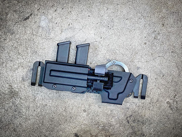 Combo Double Magazine/Single Handcuff Carrier V1