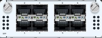 8 port GbE SFP FleXi Port module (for all XGS Rackmount models)