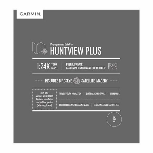 Garmin HuntView™ Plus Maps