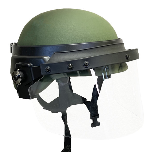 Riot Face Shields w/Universal Field Mount