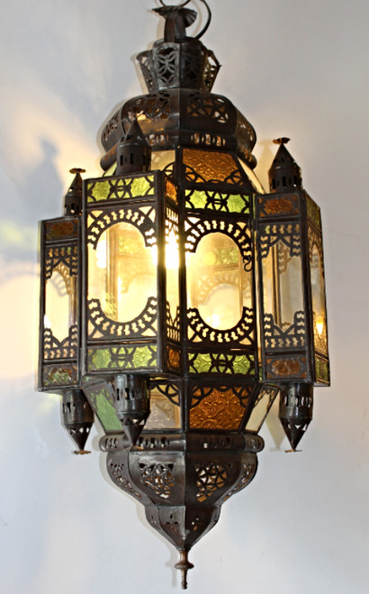 Moroccan Lamp ceiling, moroccan home decor, moroccan light fixture, ceiling light, accent light, moroccan lamps