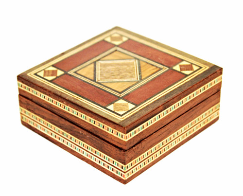 Egyptian Wooden Inlay Box/05