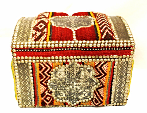 Egyptian Kilim Rug Chest XLg