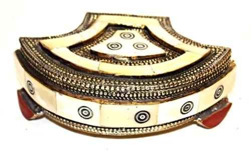 Moroccan Camel Bone Box/06