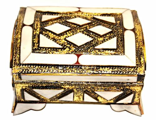 Moroccan Camel Bone Box/07