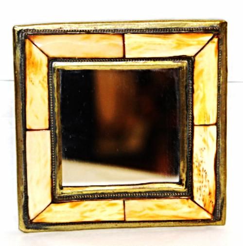 """Moroccan Camel Bone Mirror 3.5""""/06"""