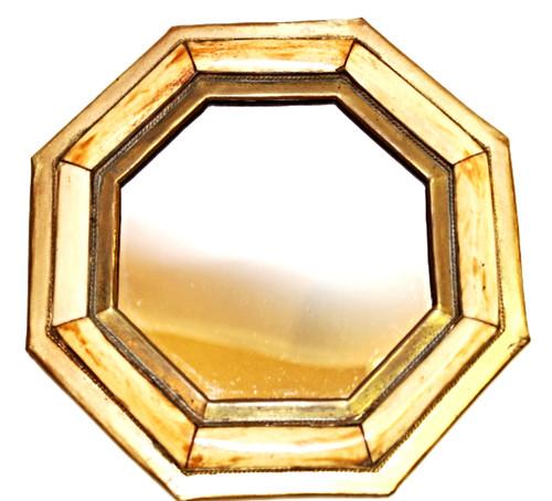 """Moroccan Camel Bone Mirror 7"""" /09"""