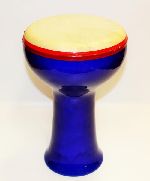 Ceramic Drum with Goatskin Head/03