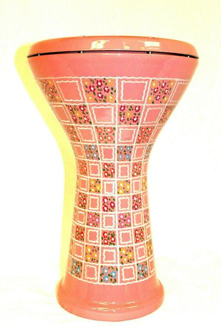 Pink Turkish Doumbek with Soft case