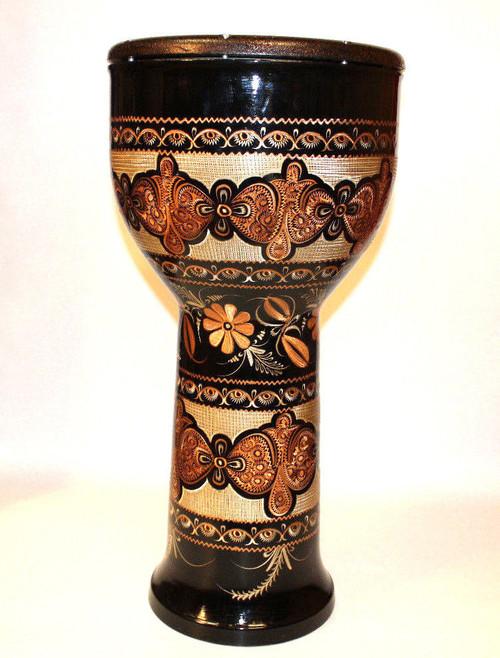 Giant Copper Doumbek Drum Djembe Size