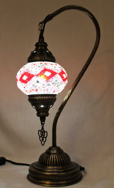 table lamp, mosaic lamp, tiffany style desk lamp, night light, pink lamp, pink decor, pink desk lamp, pink table lamp, turkish lamp, turkish lamps, mosaic desk lamp, mosaic lamps, mosaic lamps store, mosaic lamps store pittsburgh