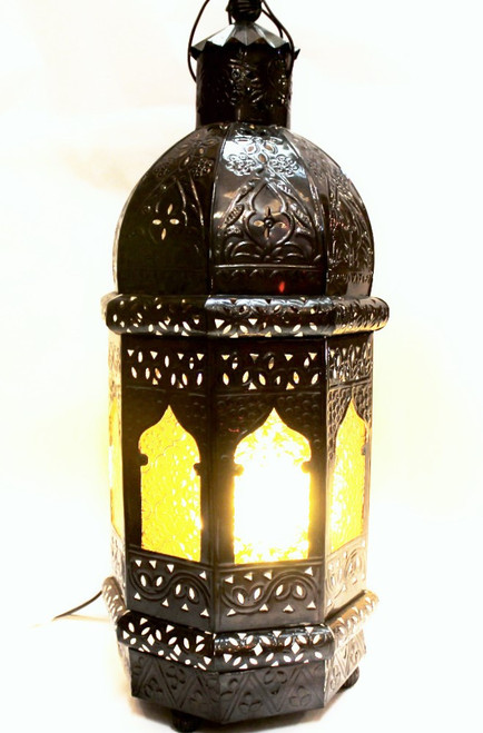Moroccan Style lamp, stained glass, colorful lamp, mood light, porch decor light, light fixture floor, floor lamp, night light romantic, moroccan lamp, floor lamp metal, metal lamp, metal light fixture, matal light-fixture, amber glass lamp, turkish lamp, night light, mood light