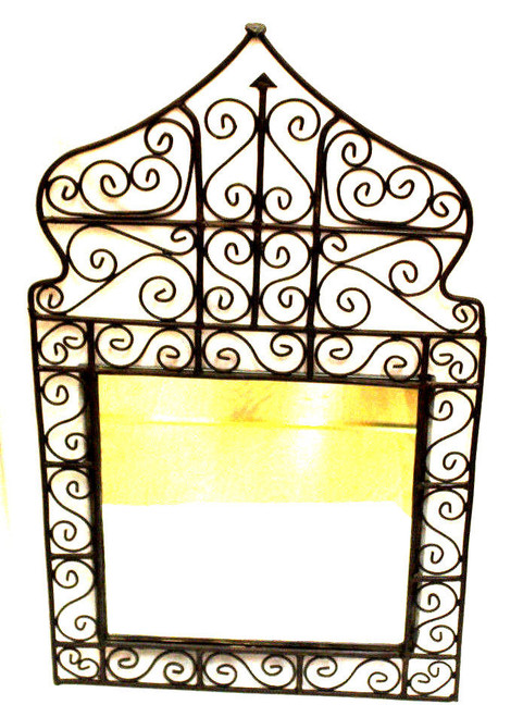 Wrought Iron Mirror Sultan
