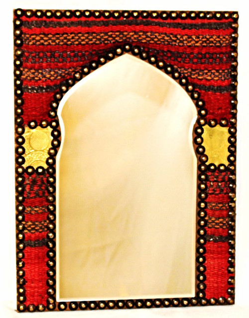 Egyptian Kilim Rug Mirror