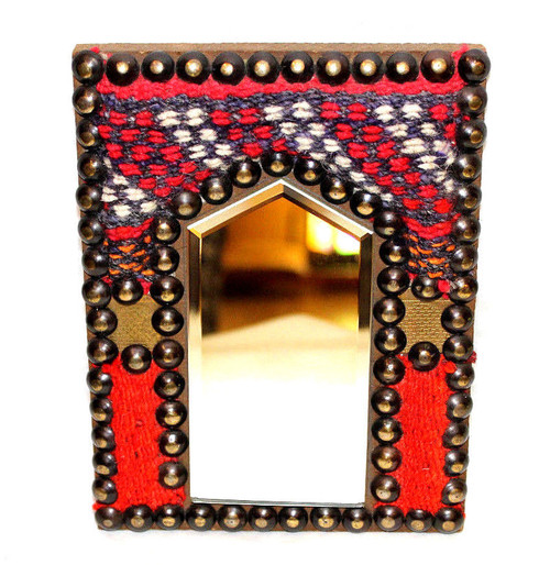 Egyptian Kilim Rug Mirror Small