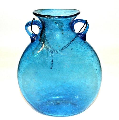 Aqua Glass Vase XLg